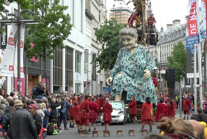 De reuzen van Antwerpen
