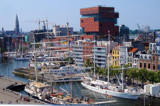 Antwerpen starthaven voor The Tall Ships Races