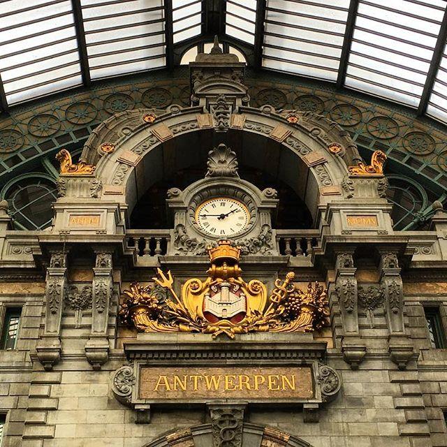 Antwerpen Centraal #antwerpen #visitantwerp #antwerpencentraal