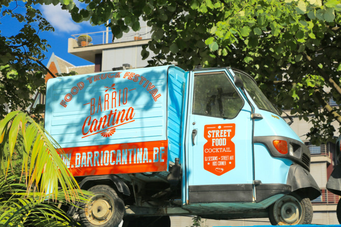 Het Barrio Cantina Food Truck Festival is begonnen