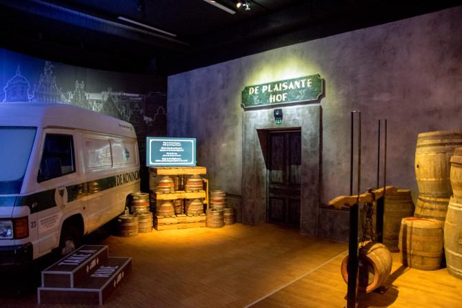 De nieuwe brouwerijtour van stadsbrouwerij de Koninck