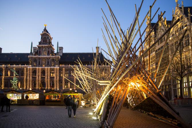 Winters Antwerpen in één dag