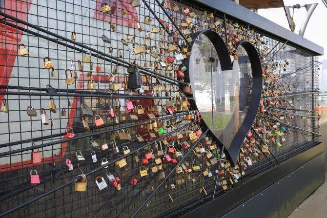 Liefdesmuur gered