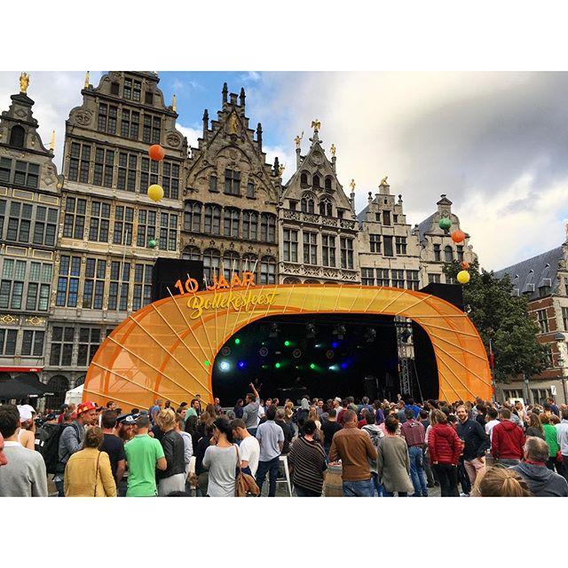 Het Bollekesfeest was weer gezellig afgelopen week #bolleke #bollekesfeest #bollekesfeesten2016 #antwerpen #belgie #dekoninck #feest #geweldigantwerpen #allesoverantwerpen #visitantwerp