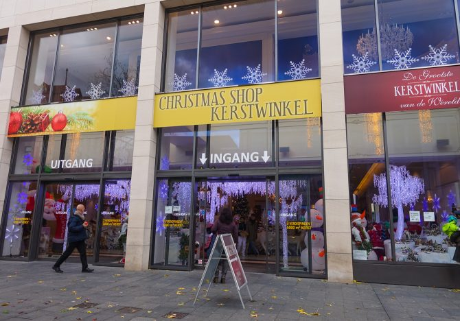 Grootste pop-up kerstwinkel ter wereld